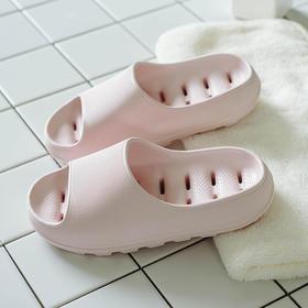 优调•日系按摩排水拖鞋│排水防滑,又软又弹,和家人穿好看又舒服