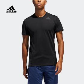 【特价】Adidas阿迪达斯Aero 3S Tee 男款训练运动短袖T恤
