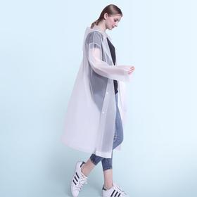 可多次使用 加厚成人雨衣 户外旅游时尚轻便雨衣  非一次性 水上乐园必备