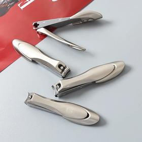 超好用的指甲剪!原d出口防飞溅指甲剪男女家用大号不锈钢修指甲刀