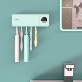 UVC计时牙刷消毒器 | 晾干、收纳、杀菌全搞定,刷牙才护牙