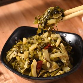 优选 | 老坛酸菜笋 有机竹笋 美味素食 笋肉饱满 鲜香爽口 316g*4袋 包邮