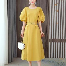 AHM-hml1691新款度假宽松时尚连衣裙TZF