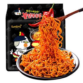 韩国进口三养火鸡面140g*5袋 口味:超辣鸡肉 芝士 奶油 炸酱面 方便面 超辣火鸡面 拌面 泡面