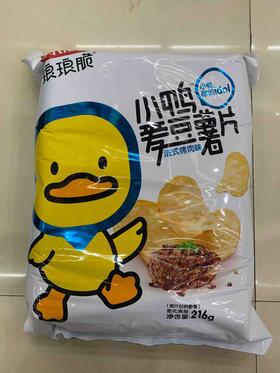 琅琅脆小鸭爱豆薯片216g