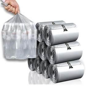 植护 点断式家用 垃圾袋实惠装110只