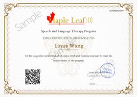 【国际证书】儿童言语发展--在线可查,推荐实习单位   KD