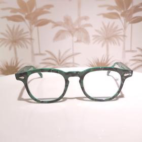 TVRopt 透明全框板材日本手造眼镜