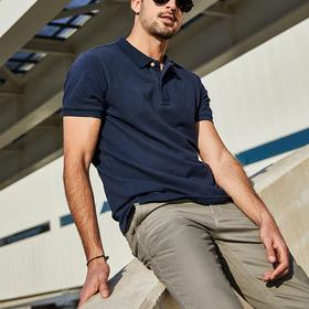 【男士必备POLO衫】天然海岛棉,亲肤舒适有质感。升级版型廓形好,修饰身形,休闲百搭!