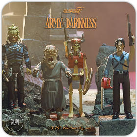 Super7 鬼玩人 Army of Darkness ReAction Figure 复古 挂卡 潮流玩具 摆件