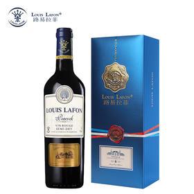 法国路易拉菲孔雀堡红葡萄酒 750ML/瓶 单支礼盒装 原瓶进口红酒 酒水包邮
