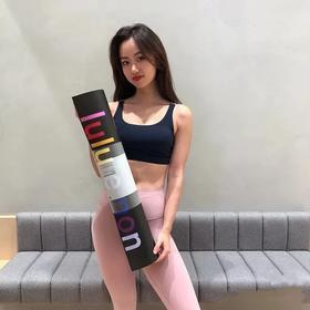 原代工厂lulu瑜伽垫旅行商务随心用家用防滑双面瑜伽垫5MM 61%天然橡胶+17%乳胶