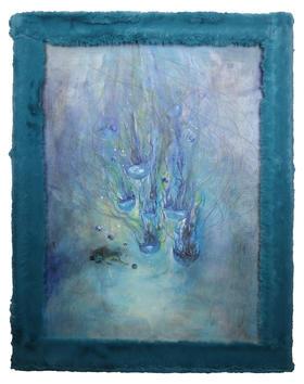 油画 《任性的爱才能给予无界限的自由》 Athena 50x70x0.6cm