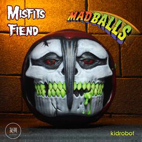 Kidrobot Misfits乐队 The Fiend Madballs Horrorballs 潮流玩具 摆件