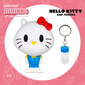 Kidrobot 凯蒂猫 三丽鸥 Bhunny Figures Hello Kitty 潮流玩具 摆件