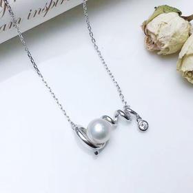 【七夕特供】LOVE*S925纯银淡水圆珍珠项链  、戒指