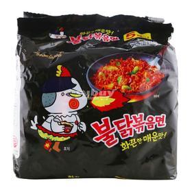 三养超辣鸡肉味拌面140g*5