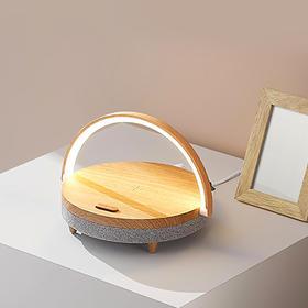 EZVALO•几光生活台灯 | 既是音箱,还能给手机充电的床头灯,超实用
