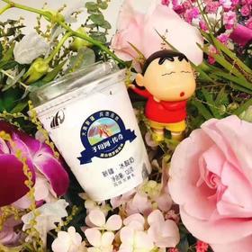 半岛商城【第二件半价】预售 新疆子母河酸奶 120g*12杯/箱 日期新鲜 周末订单周一发货