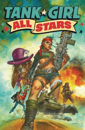 变体 坦克女孩 Tank Girl All Stars