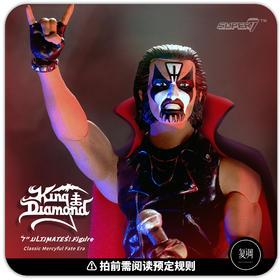 预售 Super7 King Diamond 究极版系列 Classic Mercyful Fate Era 金属乐 潮流玩具 摆件
