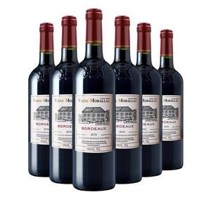 【法国经典】莫堡波尔多红葡萄酒750ml*6