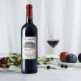 法国莫堡波尔多AOC法定产区红葡萄酒750ml