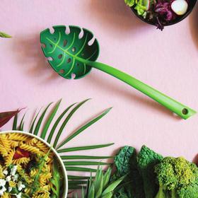 OTOTO树叶漏勺家用厨房捞面勺长柄大号捞面条捞饺子神器