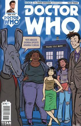 变体 神秘博士 Doctor Who 10Th Year Three