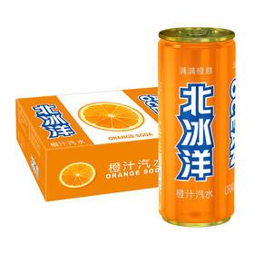 【半价特惠】江浙沪包邮 北冰洋汽水330ml 14.9元 6罐装  口味:橙汁,桔汁