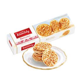 【江浙沪包邮】kambly 金宝丽 瑞士华夫薄片饼干 24.9元/盒 98g 原味单盒