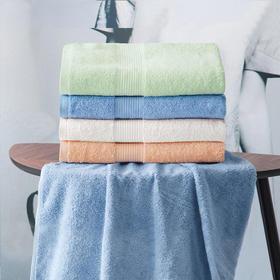 兰叙16s螺旋全棉锻档浴巾 | 柔软亲肤,吸水性强,居家温馨好物