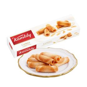 【江浙沪包邮】kambly 金宝丽 瑞士卷卷酥饼干 24.9元/盒 100g
