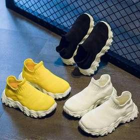 海绵宝宝儿童飞织运动鞋2020夏款透气网面椰子鞋男女童休闲跑步鞋