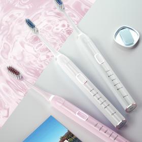 FAT声波电动牙刷 | 15种洁牙方案,牙齿白又净