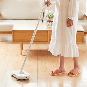 tomoni无线电动拖把 | 会喷水、不弯腰,单手拖净整个家
