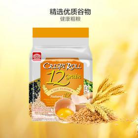 【江浙沪包邮】台湾进口PEITIEN/北田 香脆谷物卷 14.5元/包 180g 蛋黄口味单袋
