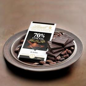 【江浙沪包邮】法国lindt/瑞士莲 29.8元/块 特醇70%黑巧克力 100g黑巧克力单块