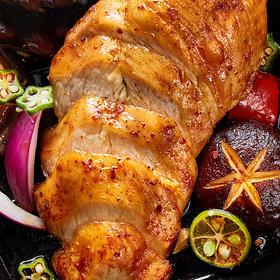 [沙拉鸡胸肉]烧烤味/奥尔良味/烟熏味三种口味任选 100g/袋 8袋装