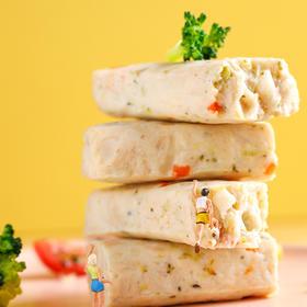 [鸡胸肉蛋白棒]肉质紧密 口感扎实 谷物多/蔬维多 两种口味可选 60g*12根