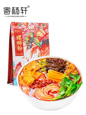 【江浙沪包邮】寄杨轩正宗螺蛳粉300g 12.1元/袋(4袋起卖)