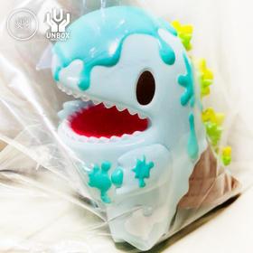 Unbox 苏打汽水色 雪糕小恐龙 DINO 潮玩 搪胶
