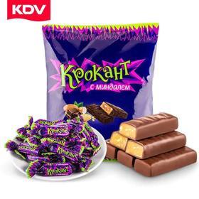 【江浙沪包邮】正品KDV俄罗斯巧克力紫皮糖18.9元/袋 70颗