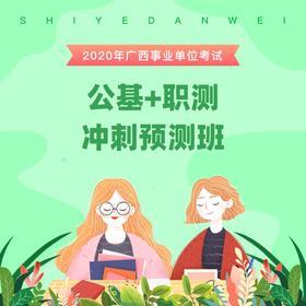 2020广西事业单位考试《公基+职测》冲刺预测班