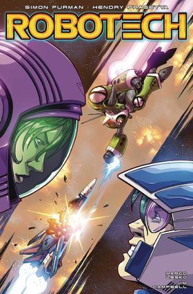 太空堡垒 Robotech