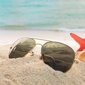 法国ZERSER姿森春夏高清偏光新款太阳镜滤除眩光TJ9286 材质铜镍合金 送眼镜盒+眼镜包+眼镜布