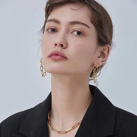 2020年新款PDM星月耳环纯银银针高级感耳钉网红气质女不对称耳坠