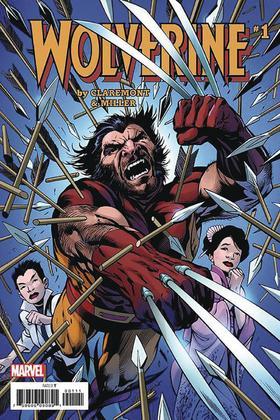 金刚狼 经典复刻 Wolverine Claremont & Miller #1 Facsimile Edition