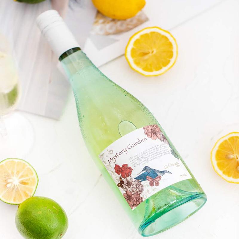 [秘境花园莫斯卡托甜白葡萄酒]果香满满 清爽不腻 750ml 商品图0