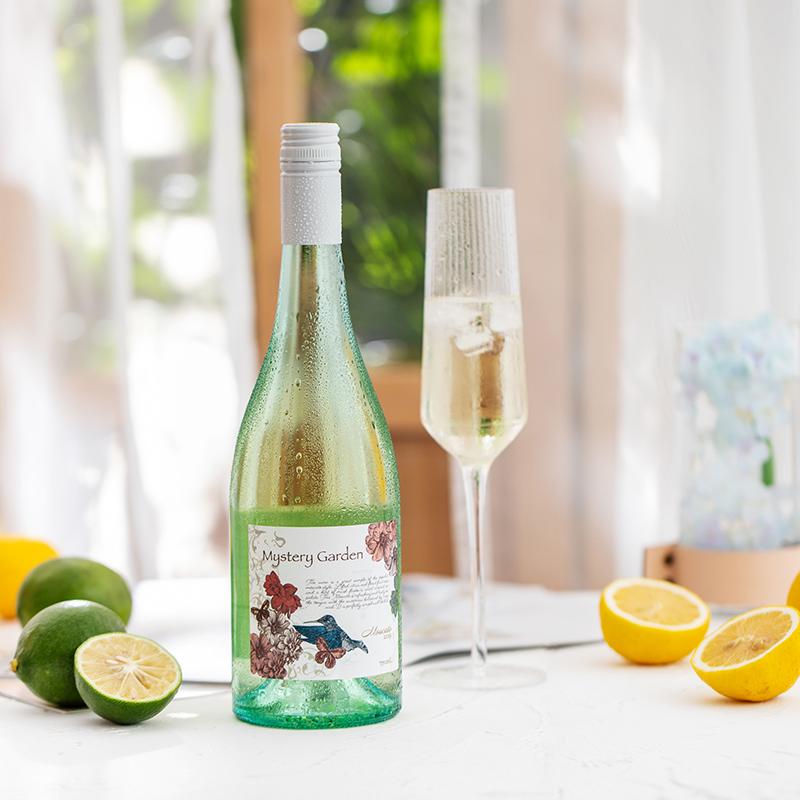 [秘境花园莫斯卡托甜白葡萄酒]果香满满 清爽不腻 750ml 商品图1
